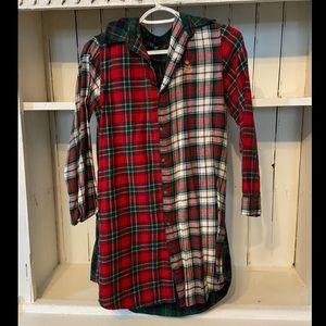 Ralph Lauren women's flannel sleep shirt